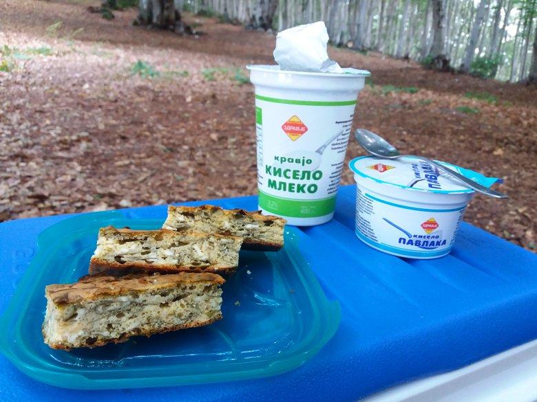 Здраво пикник лепче со спанаќ и јогурт 2