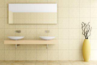 чистење на плочките во бањата