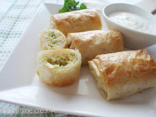 Печени ролнички со фил од брокула и сирење 1