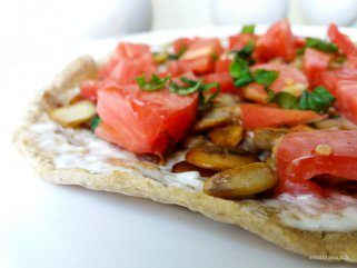 Овесна тортиља со фил од печурки 1