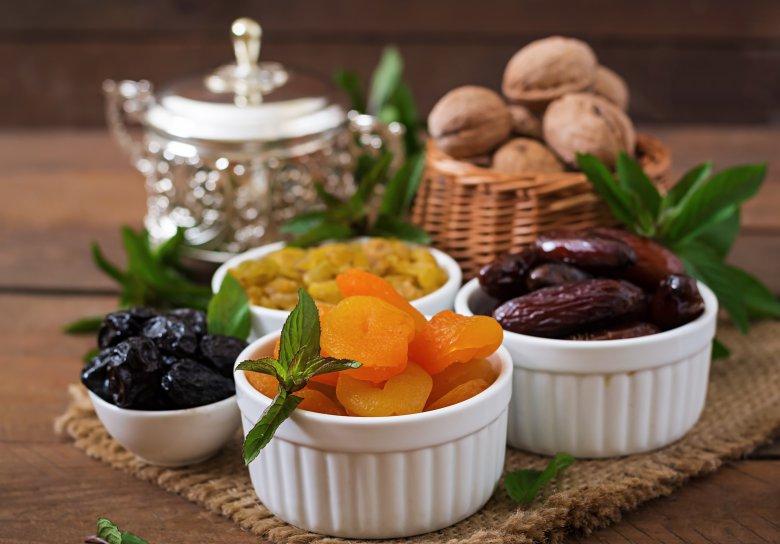 чување на сушено овошје