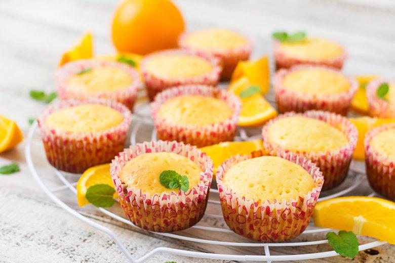 мафини со портокал
