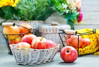 чување на јаболката во зима