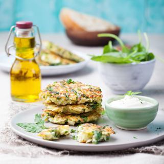 вегетаријански плескавици од зелка и блитва