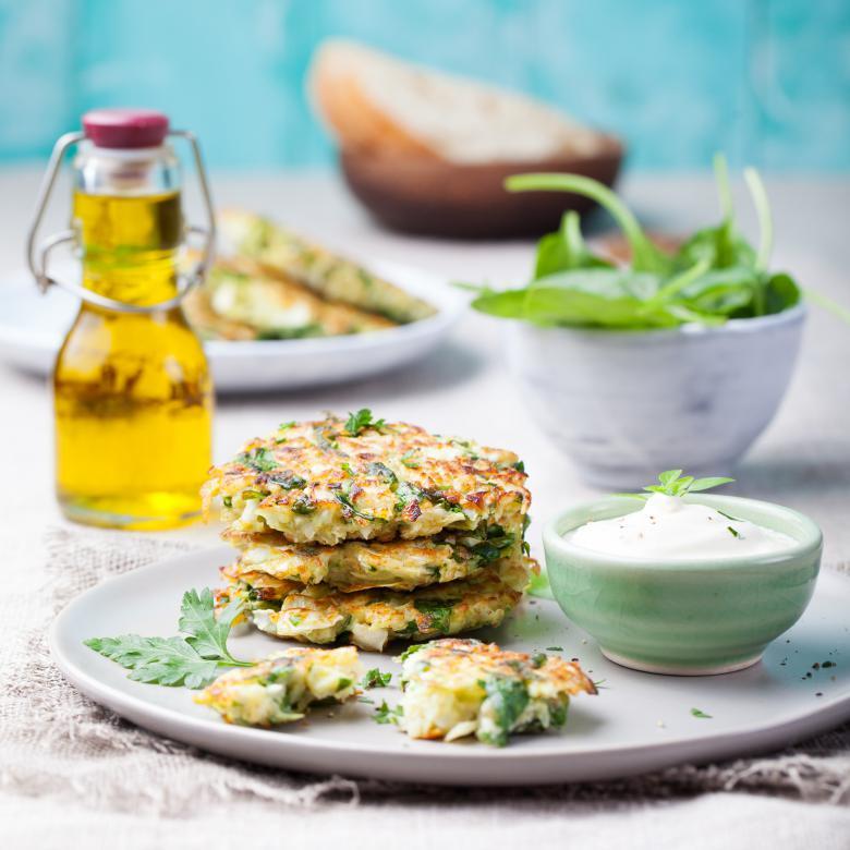 вегетаријански плескавици од зелка