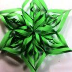 Новогодишни декоративни ѕвезди од хартија 1