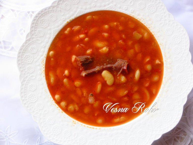 Варен посен грав со домат 2