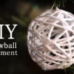 Направете снежни топки од конец за плетење 1