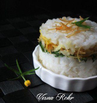 Декоративен ориз со фиде 1