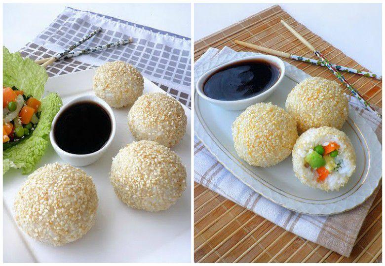 посни бомбици со ориз