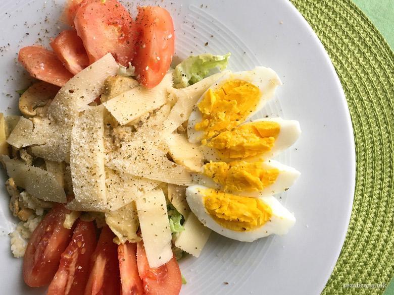протеинска салата со просо