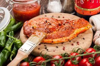 сува маринада за сите типови на месо