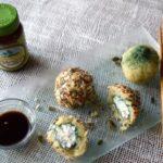 Вегетаријански топчиња од компири, спирулина и изварка