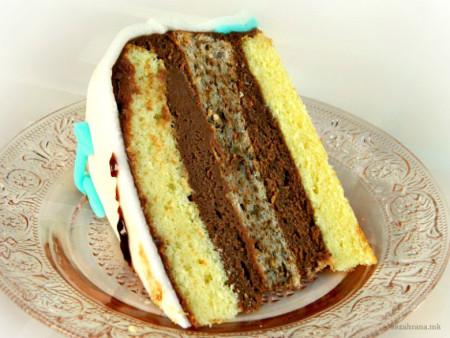 торта со рум и ванила