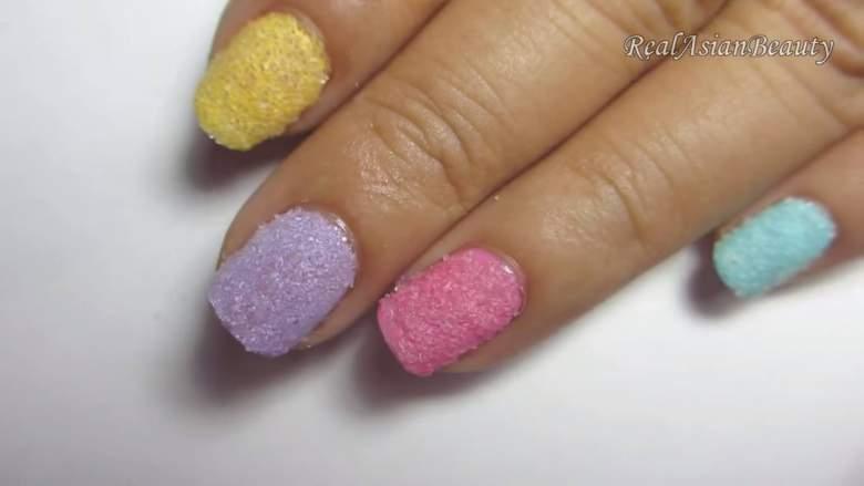 шеќерен маникир - пролетни нокти