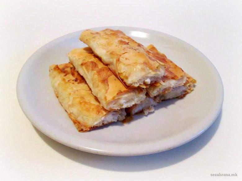 мазник со готови кори - лесен рецепт
