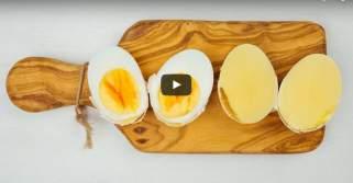 Направете матени варени јајца без да ја скршите лушпата