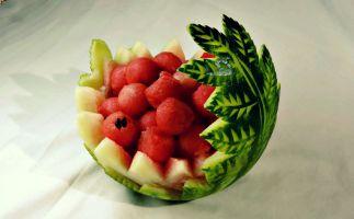 декорација од лубеница 1