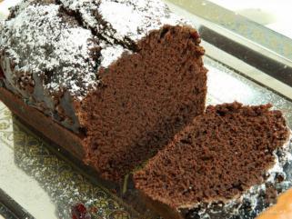 чоколадна посна торта 1