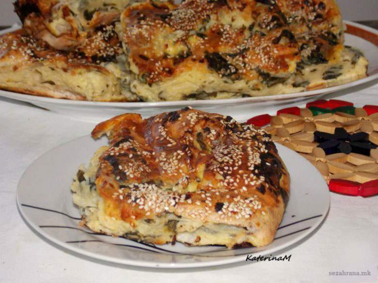 Полжавчиња од готови кори со спанаќ и сирење