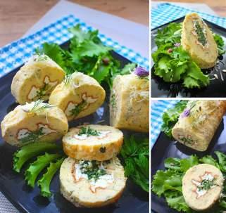 Солен ролат со спанаќ и сирење