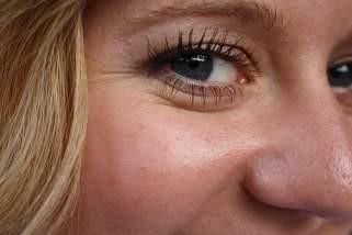 Хранлива маска против брчки околу очите