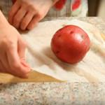 печен компир во микробранова
