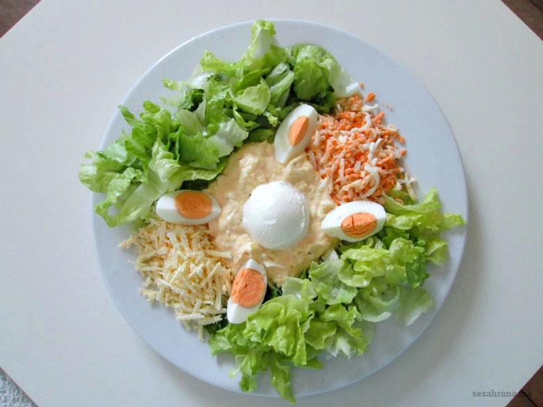 редена мимоза салата