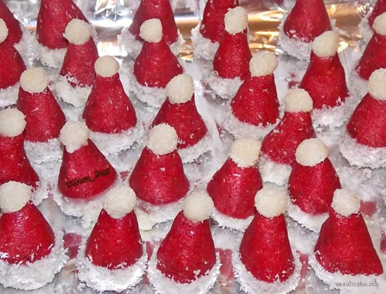 Новогодишни капи - колачи