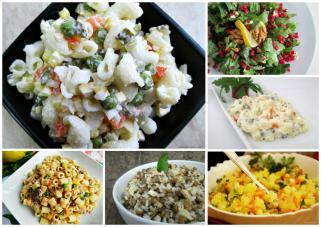 11 избрани рецепти за посни салати и прилози