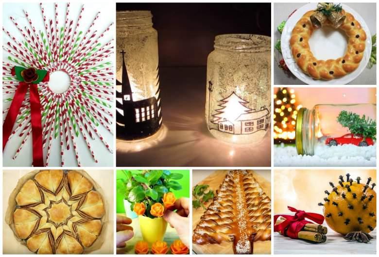 20 новогодишни декорации за домот и трпезата