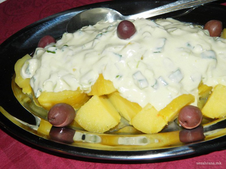 компир салата