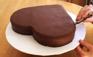 срце торта