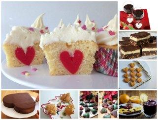 Избор на слатки и солени рецепти за Св. Валентин 1
