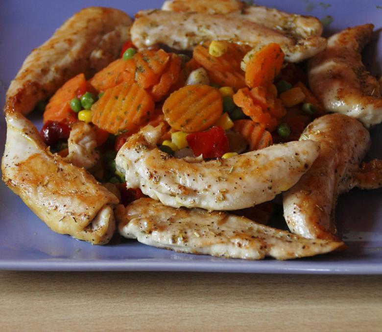 сочно пилешко месо