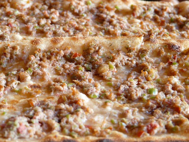 Лахмаџун - турска пица 2