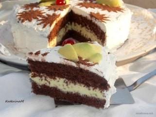 Чоколадна авокадо торта 1