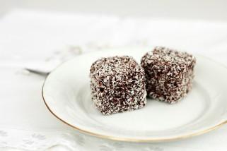 чоколадни кокос коцки