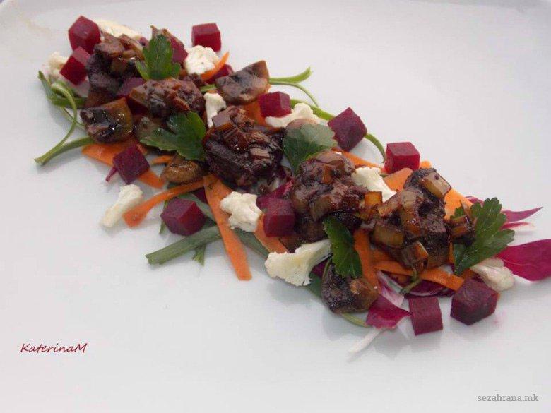 Свинско месо со ѓумбир и соја сос 2