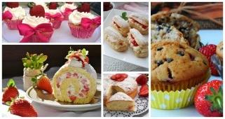 6 испробани рецепти за овошни десерти со јагоди 1
