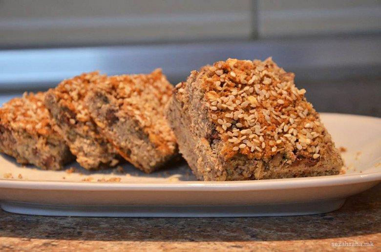 Домашен безглутенски протеински леб со низок гликемиски индекс 2