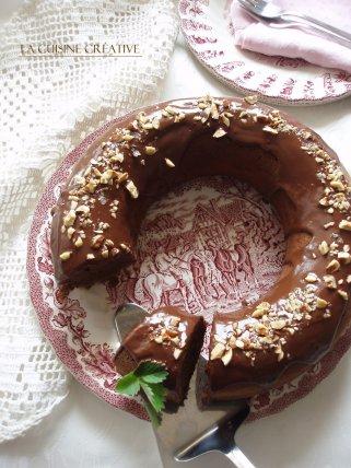 Чоколаден колач со банани (куглоф) 1