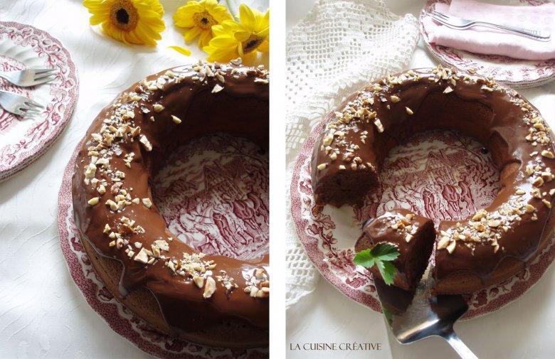 Чоколаден колач со банани (куглоф) 2