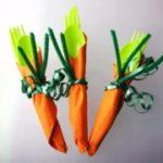 Морков салфетка за прибор 1
