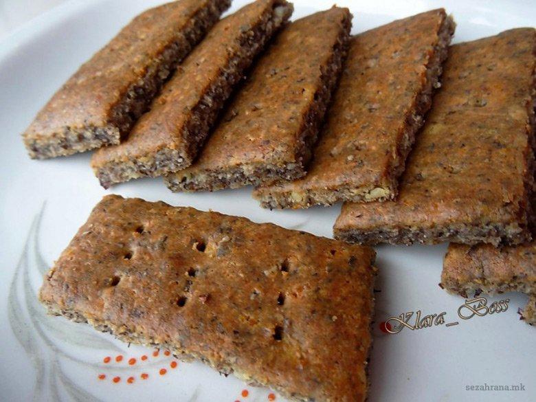 Здрави солени бисквити без глутен 2