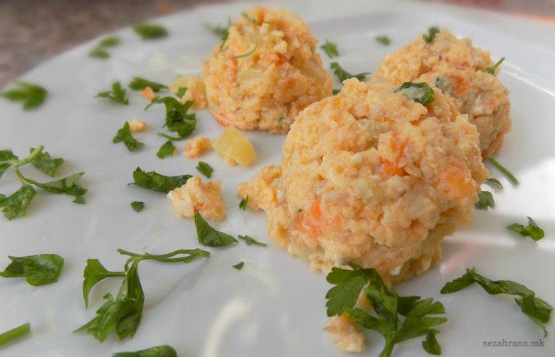Безглутенски појадок од житарки, зеленчук и сирење 2