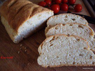 Домашен леб со фета сирење 1