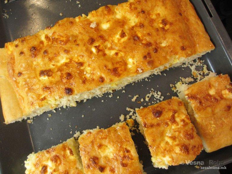 Пинирлија - пита потурена со сирење и јајца 2