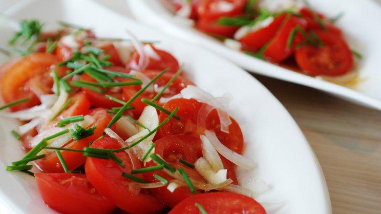 летни салати со домати