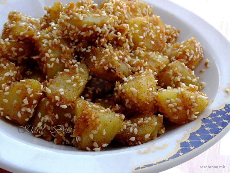 компири со сусам